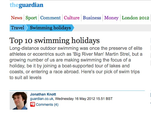 The Big Blue in The Guardian
